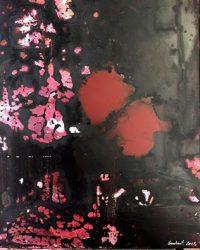 """Spiritual systole and diastole"" Sacratu Serie. Oil on canvas 30x40cm, Goulart, 2016"