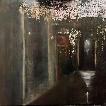 Heaven´s Doors - oil on canvas 40x40cm.